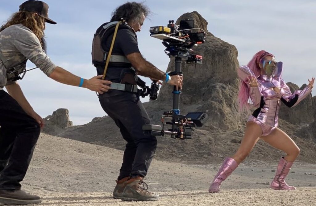 Lady Gaga #ShotOniPhonePro – Behind the Scenes technique
