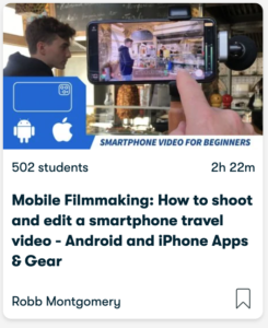 Free phone video editing app and tutorials for beginners, travel bloggers, and kids